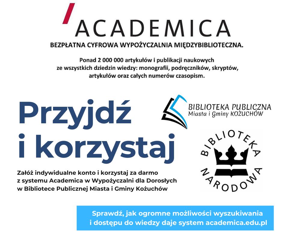 Academica dostępna dla naszych czytelników!